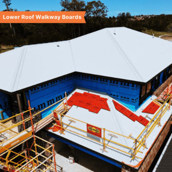 Lower Roof Walkway Boards