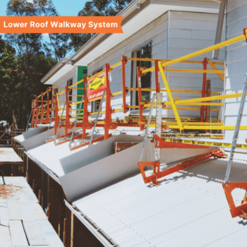 Lower Roof Walkway System