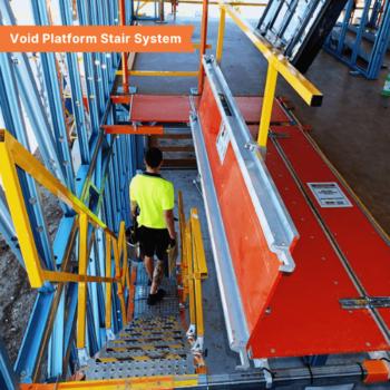 Void Platform Stair System